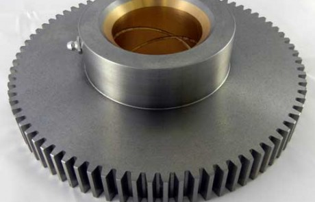 Brushing Bore, Impression Cylinder Gear